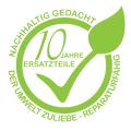 Der Umwelt zuliebe: Nachhaltigkeit durch Reparaturfähigkeit - 10 Jahre Ersatzteile